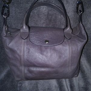Longchamp Le Pliage Small Cuir